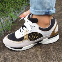 """CHANEL"" Hot Sale Fashion Women Running Sport Shoes Sneakers I"