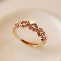 Stylish Gift Jewelry New Arrival Shiny Korean Accessory Ring [11372092116]