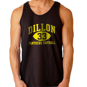 Dillon Panthers 33 blue For Mens Tank Top Fast Shipping For USA special christmas ***