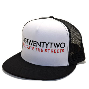 Infiltrate The Streets Classic Trucker Snapback Black