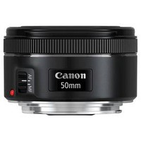 Canon EF 50mm f/1.8 STM Lens - Black(1276C002)