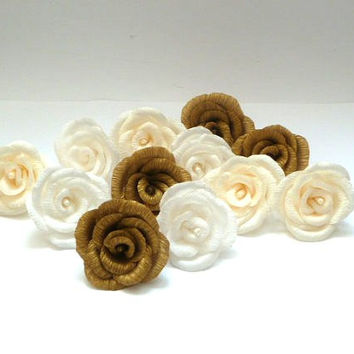 One Crepe Rose,Wedding Decoration,Flower Girl Decoration,Centerpiece Decoration,Paper Flowers,Romantic Decoration,Party Decor,Home Decor