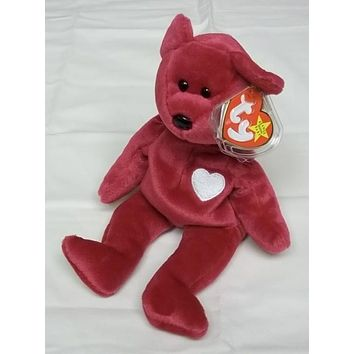 Ty Beanie Babies Valentina the Bear -- Used