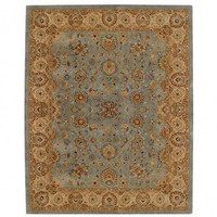 Capel Forest Park Medallions Medium Blue/Gold Oriental Rug - 9296-400 - Blue and Purple Rugs - Area Rugs by Color - Area Rugs