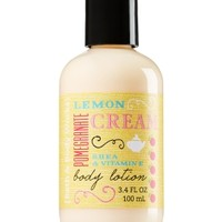 Travel Size Body Lotion Lemon Pomegranate Cream