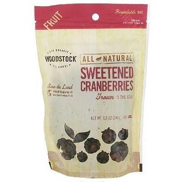Woodstock Sweetened Cranberry (8x8.5oz )