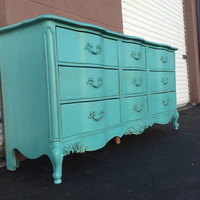 Vintage French Provincial Dresser by Bassett