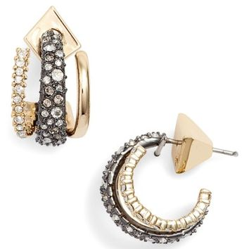 Alexis Bittar Floating Orbit Hoop Earrings | Nordstrom