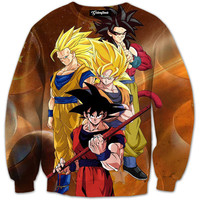 Gokus Transformations Crewneck