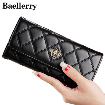 Fashion Crown Wallet Female Purse High Quality Women Wallets Ladies Leather Wallet Women Clutch Bag portefeuille femme WWS079