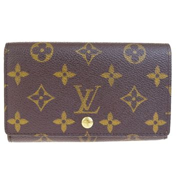 Auth LOUIS VUITTON Tresor Bifold Wallet Purse Monogram Leather BN M61730 66B1792
