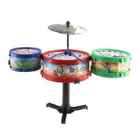 Children Musical Instruments Toy Kids Colorful Plastic Drum Drum Kit Set = 1945870724