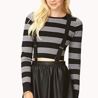 On The Edge Overall Skirt | FOREVER 21 - 2000092981