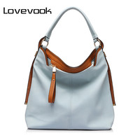LOVEVOOK brand large capacity shoulder bags hobo bags for women fashion women crossbody bags casual bags 2017 soft PU handbag