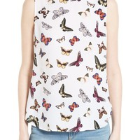 Equipment Lyle Print Silk Top | Nordstrom