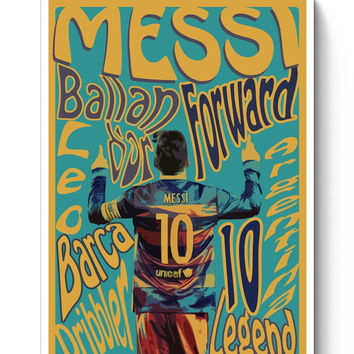 Leo Messi Poster Poster