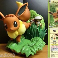 EEVEE EIEVUI POKEMON Pocket Monster Best Wish BANPRESTO Premialive Figure Doll