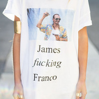 James fucking Franco t-shirt