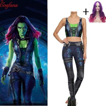 Avengers Leggings with Vest Guardians of the Galaxy Costume