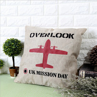 Cotton Linen Creative Cars Cushion [6283600646]