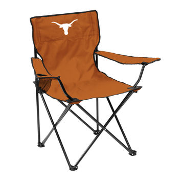 Texas Longhorns Quad Chair - Logo Chair