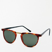 Reclaimed Vintage Round Sunglasses - Brown
