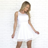Everything You Want Dress in White