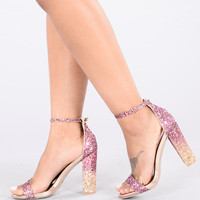 Stayin Alive Heel - Blush