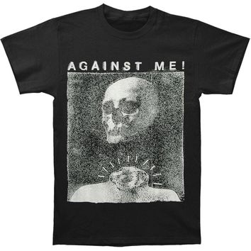 Against Me Men's  Video T-shirt Black