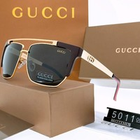GUCCI 2018 new personality men's driving polarized sunglasses #2