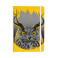 "BarmalisiRTB ""Majesty"" Yellow Owl Everything Notebook"