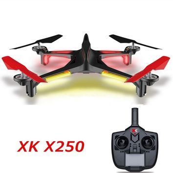 XK X250 4CH 6 Axis RC Quadcopter RTF 2.4G XK Alien X250 Free Shipping
