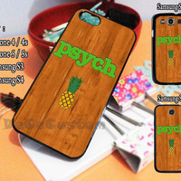 Psych wood For iphone case, Samsung Galaxy Case, iPod Case, HTC Case, Blackberry Case, Sony Case