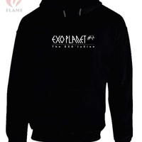 DCCK7H3 EXO EXOluxion Planet Hoodie