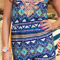 Road Trip Tribal Romper