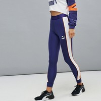 Puma Exclusive To Asos High Rise Color Block Active Leggings at asos.com