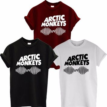 c9224e5bf Arctic Monkeys Sound Wave T Shirt Tee Top Rock Band Concert - Al. SHIRTS,  Clothes