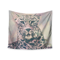 """Suzanne Carter """"Tawny"""" Pink Black Wall Tapestry"""