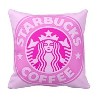 Pink Chic Retro Modern Photo Fashion Pillow