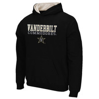 Vanderbilt Commodores Youth 3 Stack II Pullover Hoodie - Black - http://www.shareasale.com/m-pr.cfm?merchantID=7124&userID=1042934&productID=547709195 / Vanderbilt Commodores