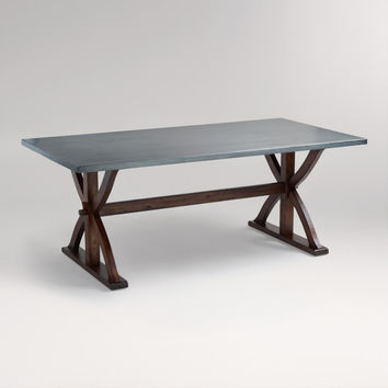 Metal Wrapped Braxton Dining Table