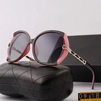 Ladies Uv Proof Stylish Hollow Out Skinny Sunglasses [10155820167]