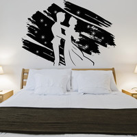 Vinyl Wall Decal Sticker Fairy Tale Wedding #OS_AA893