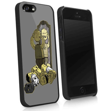 lego mustache stromtrooper, harry potter new custom design - kk iPhone 5, iPhone 4 / 4S case