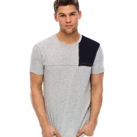 Amazon.com: Armani Exchange Pieced T-shirt