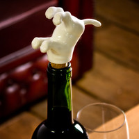 Animal Wine Bottle Stoppers at Firebox.com