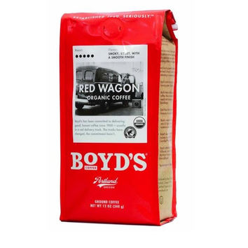 Boyds Coffee Red Wgn Coffee (6x12oz )