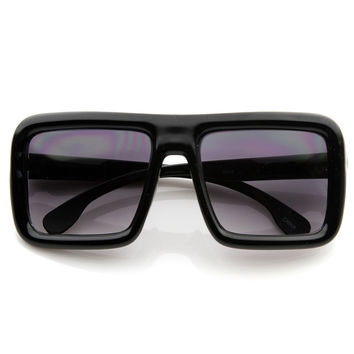 Super Square DJ Hipster Block Sunglasses 8592