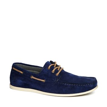 Jack & Jones Suede Boat Shoes