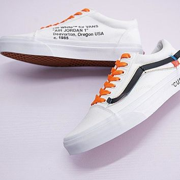 Virgil Abloh Off White X Vans Old Skool Sneaker Shoe  e515983f1